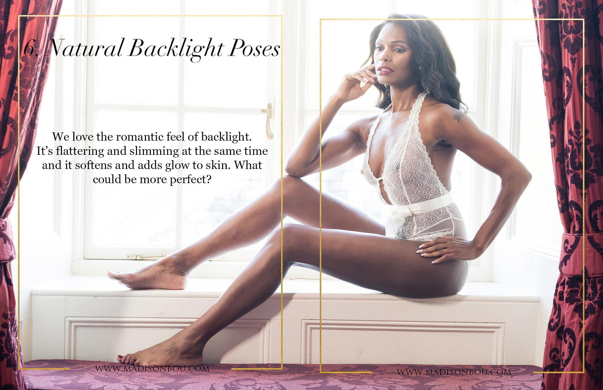 6-natural-backlight-poses-top 10 boudoir poses