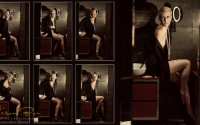 BOUDOIR GLAMOUR PHOTOGRAPHY – A DRESS, A ROOM AND SOME COOL PICTURES