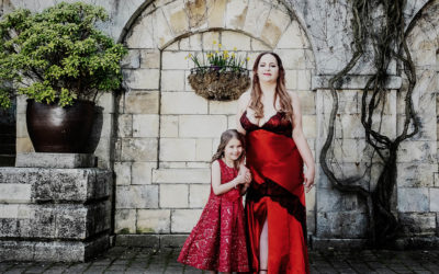 MUM AND DAUGHTER – LALIA AND AGNES